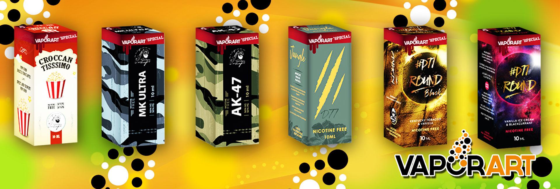 vaporart Vaporart Liquidi per Sigaretta Elettronica banner vaporart