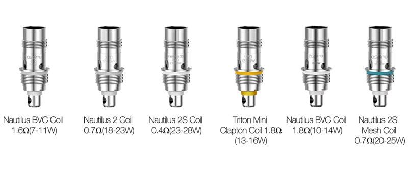nautilus 3 coil compatibili nautilus 3 aspire Nautilus 3 Aspire nautilus 3 coil compatibili