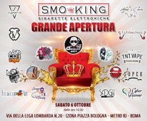 smo-king Smo-King Piazza Bologna Roma Centro Innaugurazione Nuovo Negozio di Sigarette Elettroniche a Roma 300x248