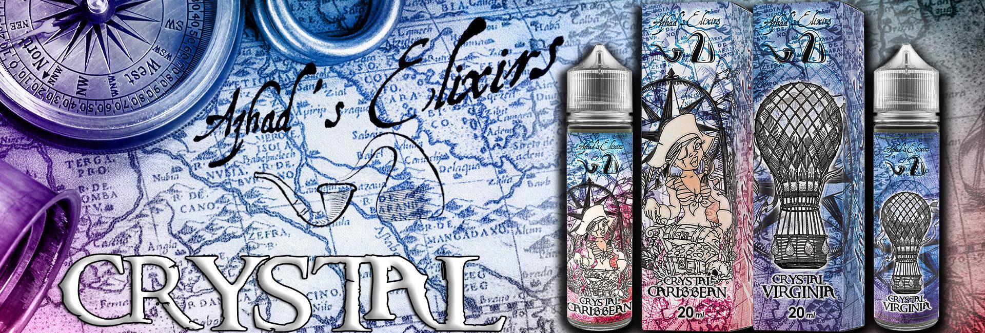 Azhad's Elixirs Crystal Caribbean e Crystal Virginia Aroma 20 ml