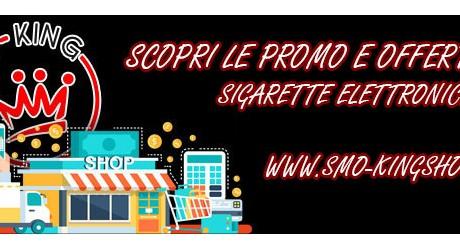 smo-king Smo-King Sigaretta Elettronica Roma SCOPRI LE PROMO E OFFERTE SIGARETTE ELETTRONICHE 1600688210 460X250 c c 1 FFFFFF